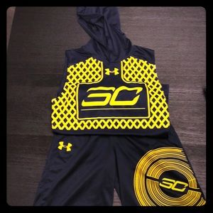 Stephen Curry Under Armour 2 piece outfit